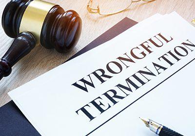 Wrongful termination file